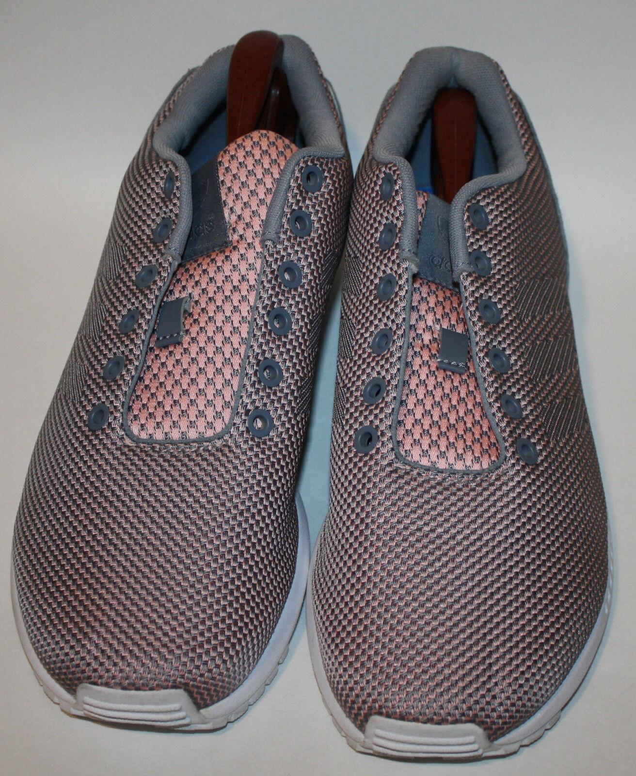 ADIDAS Pink Gray  Shoes Shoes Shoes ZX Flux Torsion   9.5 f04a87