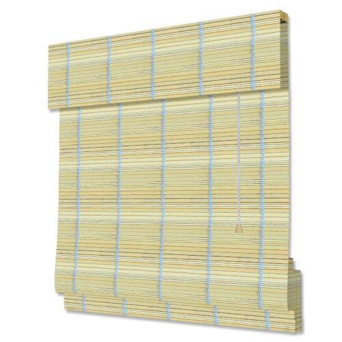 Bambus-Faltrollos Natur viele Größen günstige Preise INTERDECO Bambusrollos