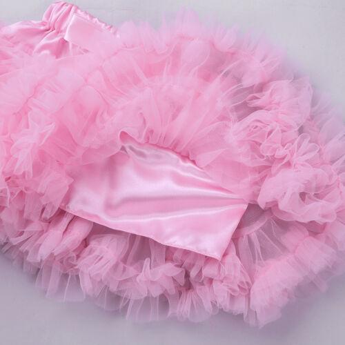 Newborn Baby Girls 1st Birthday Outfit Party Tutu Skirt Dress Romper Bodysuit