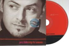 Perry Blake Songs For Someone CD PROMO SAMPLER card sleeve