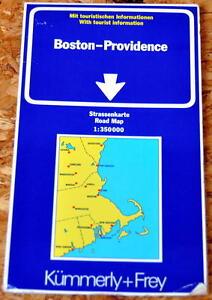 Straßenkarte Großraum Boston - Providence 1:350.000 USA - Neuenkirchen, Deutschland - Straßenkarte Großraum Boston - Providence 1:350.000 USA - Neuenkirchen, Deutschland