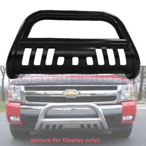 Image Is Loading Black Front Bull Bar W Skid Plate For
