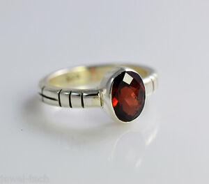 Garnet-925-Solid-Sterling-Silver-Handmade-Midi-Ring-Size-3-13-US