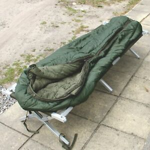ORIGINAL BW ARMEE WINTERCHLAFSACK OLIV OUTDOOR CAMPING ANGELN NATO MILITARY