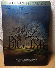 Big Fish 2003 Dvd Edicion Metalica Tim Burton