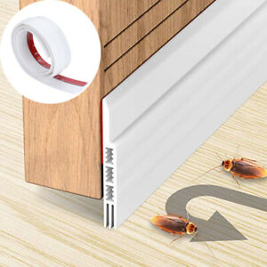 Door Draft Stopper Guard Draft Blocker Seal Wind Soundproof Under Bottom Strip