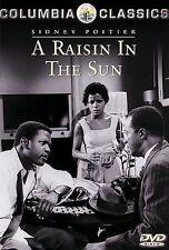 A Raisin in the Sun, New DVD, Sidney Poitier, Claudia McNeil, Ruby Dee, Diana Sa