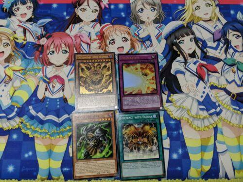 /& More Yugioh Legendary Exodia Incarnate /& Exodia Necross /& Obliterate!! LDK2