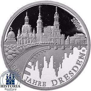 10 Euro Münze 2006 Dresden Ausreise Info