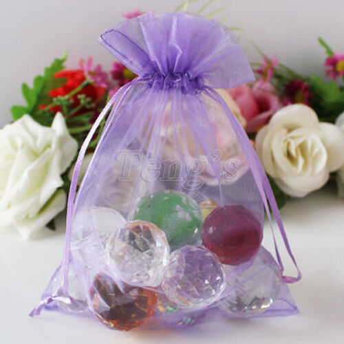 wholesale:new multicolor jewelry ornament  Pearl yarn bag silk ribbon gift bags