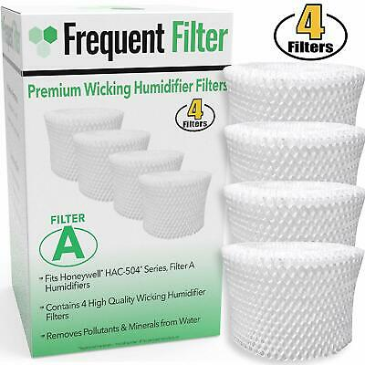 4 Units Honeywell HAC-504AW Filter A Replacement Compatible Humidifier Wick