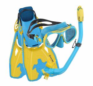 U-S-Divers-Youth-Snorkel-Set-Go-Pro-Ready-NEW-NEW-OPEN-BOX