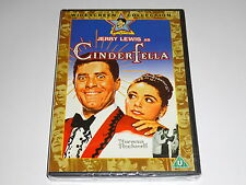 Cinderfella - Jerry Lewis - NEW / SEALED GENUINE UK (Region 2) DVD