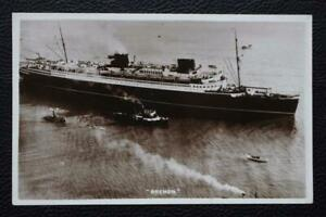 buying cheap outlet hot products Details about NORTH GERMAN LLOYD LINE SS BREMEN NDL ORIGINAL POSTCARD  1930'S REAL PHOTO