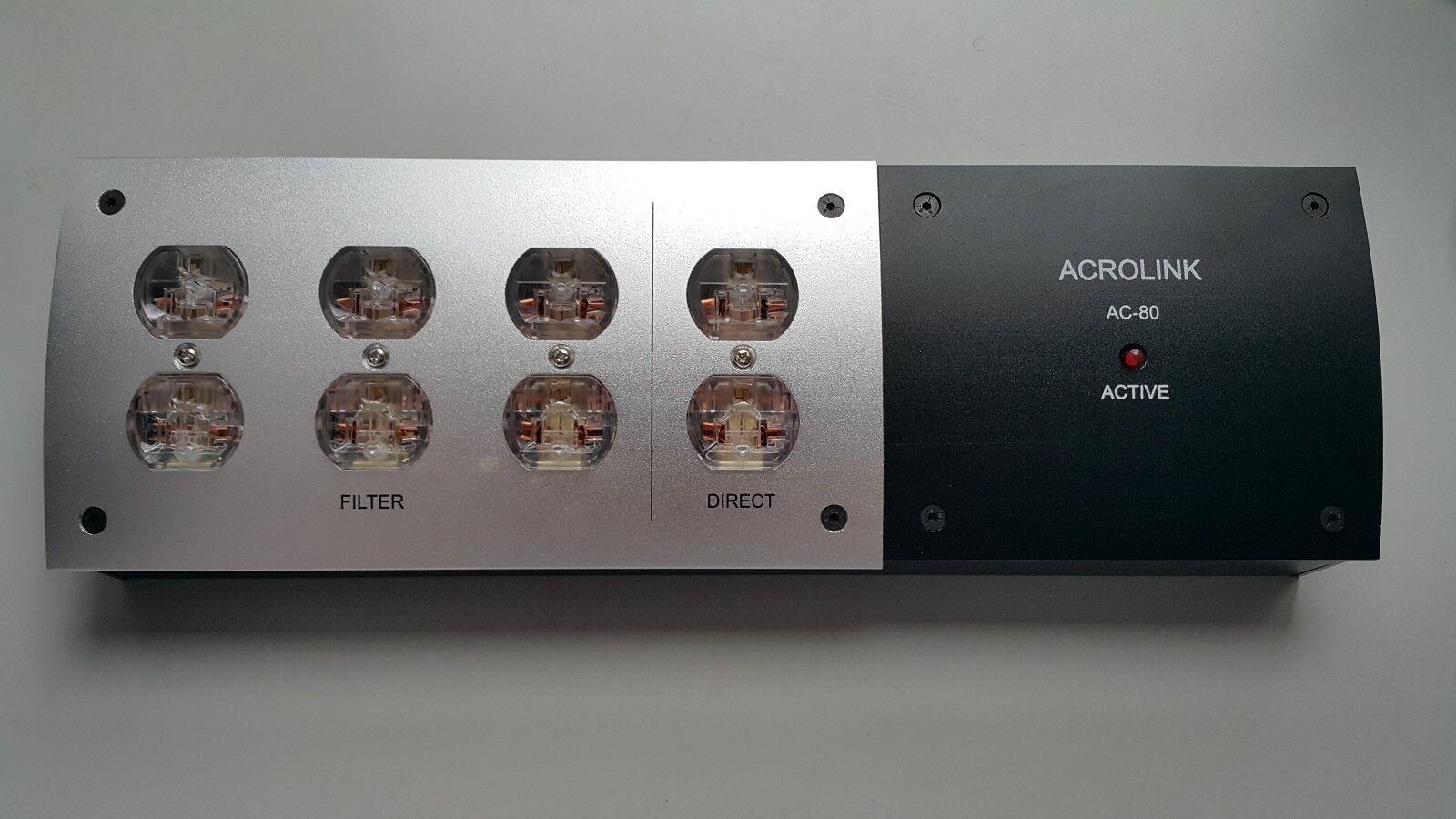 8 8 8 Outlet PP021 Hi-Fi Audio AC80 filtro purificador de la rojo eléctrica Distribuidor de Estados Unidos 90c4fd