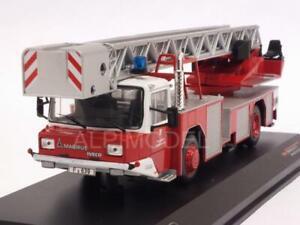 Magirus Dlk 2312 Échelles de camions de pompiers à l'échelle 1:43 Ixo Trf005