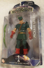 LOT # 563 GREEN ARROW ACTION FIGURE of HISTORY O/T DC UNIVERSE SERIES 1 from DC