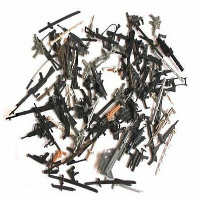 Lot 200Pcs Accessories For Gi joe Cobra custom folder Figures weapon guns toy