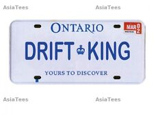 Realistic Ontario Plate (DRIFTKING) For RC Cars GPM Racing
