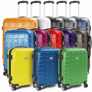 Berwin® Reisekofferset Reisekoffer Trolley Hartschalenkoffer Modell SQUARES