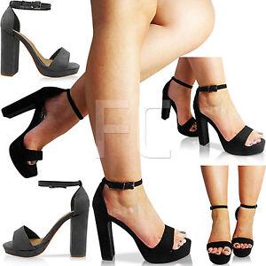 LADIES-WOMENS-BLOCK-HIGH-HEEL-PEEP-PLATFORM-ANKLE-STRAP-SHOES-SANDALS-SIZE-PARTY
