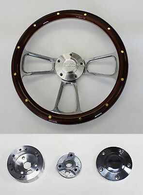 "1969-1994 Camaro steering wheel SS 14/"" POLISHED BILLET"