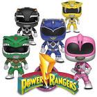 Funko Pop! TV - Power Rangers New Figurines - Black, Pink, Yellow, Blue or Green