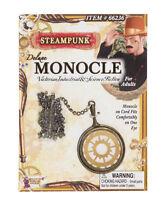 Deluxe Steampunk Monocle Victorian Fancy Dress Costume Accessory Eyeglass BA749