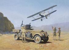 Rolls Royce Armoured Car Hawker Hart Army Air Force Fathers Day Birthday Card