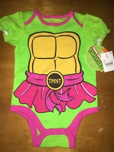 Teenage Mutant Ninja Turtles TMNT Bodysuit and Pants Set romper snapsuit