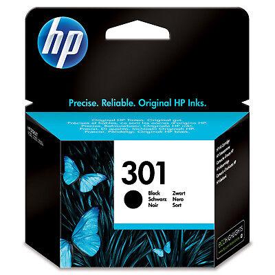1x ORIGINAL HP 301 schwarz TINTE PATRONE DeskJet 2540 2544 3050 2050