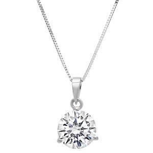 2ct-Round-Cut-Solitaire-Martini-Solid-14k-White-Gold-Pendant-Necklace-18-034-Chain
