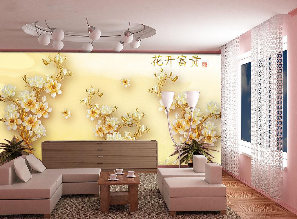 3D Geld Blüte 876 Tapete Tapete Tapete Wandgemälde Tapete Tapeten Bild Familie DE Summer | Sonderangebot  | Vorzügliche Verarbeitung  |  b051f7
