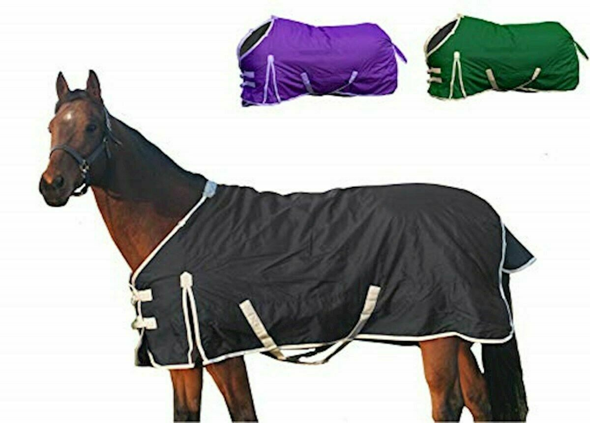 Derby Originals Deluxe 600D Nylon  Turnout Winter Blanket- Horse and 80-8003BK-62  the newest