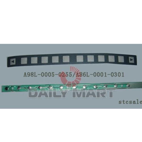 NEW Fanuc 12 Membrane Keypad Keysheet A86L-0001-0301//A98L-0005-0255 FREE SHIP