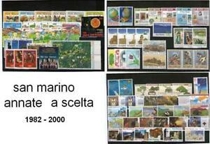 SAN-MARINO-ANNATE-COMPLETE-DAL-1982-AL-2000-A-SCELTA-GUARDA-BENE-I-PREZZI