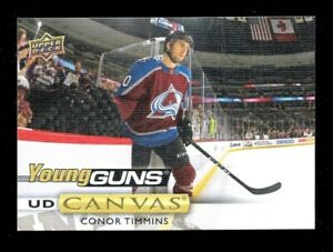 2019-20-UPPER-DECK-SERIES-2-YOUNG-GUNS-ROOKIE-CANVAS-CONNOR-TIMMINS-C237