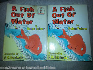 A fish out of water 1961 childrens book dr seuss 1st for A fish out of water book