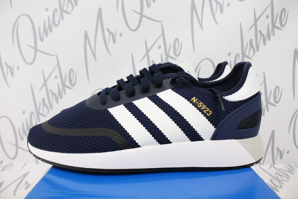ADIDAS ORIGINALS INIKI RUNNER N-5923 9 COLLEGIATE NAVY blueE WHT BLACK DB0961