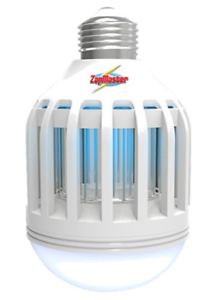Zap Master Zm400 Led 2 In 1 Bug Zapper Bulb Amp Porch Light