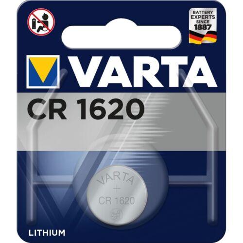 20x CR1620 3V Lithium Batterie Knopfzelle 3 Volt ø16x2,0mm VARTA Blister