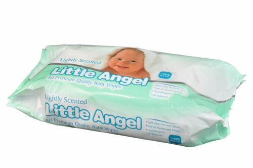 2 Boxed of 6 pk Little Angel Baby 80 Wipes Lightly scented = 960 wipes