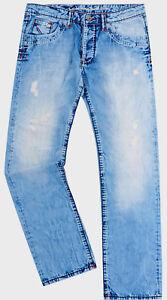 Streng 2.choice Camp David Jeans Größe W30/l32 Original Herren Modell:nick Neu