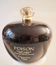 Viintage Poison Christian Dior Perfumed Dusting Powder Box/ Puff/ Empty/ FRANCE