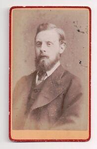 Vintage-CDV-Unknown-Gentleman-Suit-amp-Tie-Lot-Dixon-Photo-Lancashire