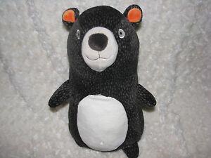 Circo Pillowfort Pillow Fort Stuffed Plush Teddy Bear Brown Orange