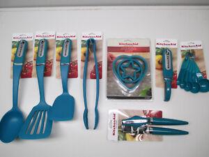 Kitchenaid Deep Teal Kitchen Utensils Hdtb Ebay