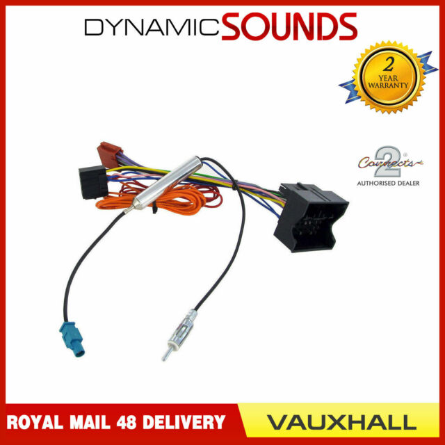 vauxhall quadlock car stereo radio iso wiring harness connector adaptor cable Vauxhall Wiring Harness Vauxhall Wiring Harness #10