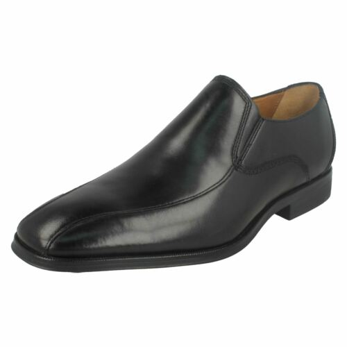 hommesGilman Formal pour Clarks Black Chaussures Slip XZkuPiO