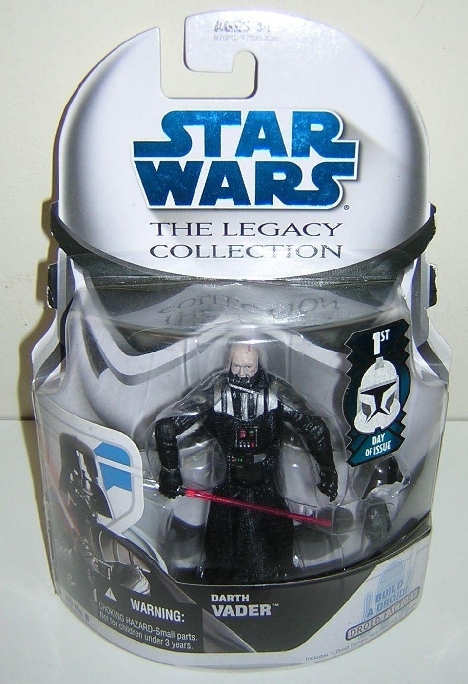 Star wars legacy collection bd8 darth vader 1. tag - frage